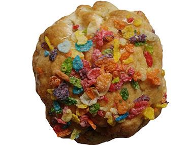 fruity pebbles gooey cookies